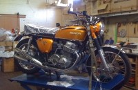 Honda 1971 CB750K1 - to be restored as a riding restoration